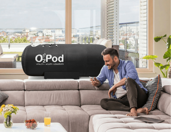 Man on Sofa - O2Pod