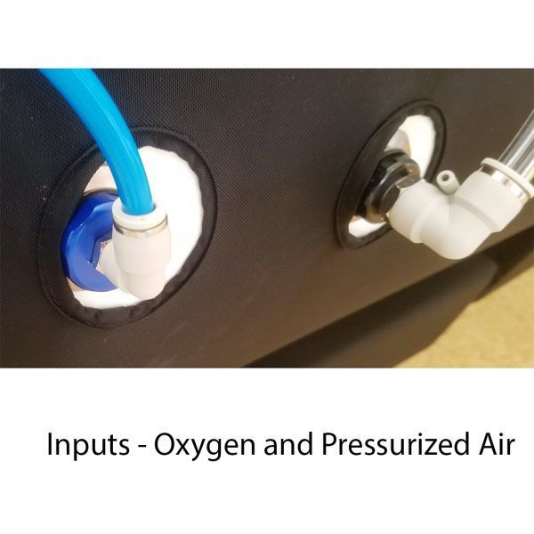 hyperbaric oxygen therapy chamber air