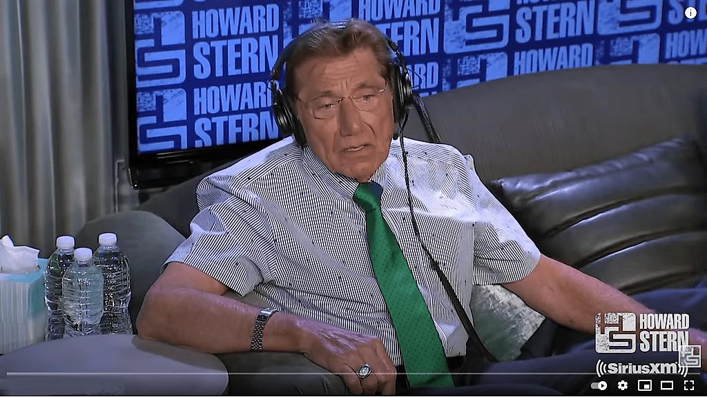 Joe Namath on Howard Stern